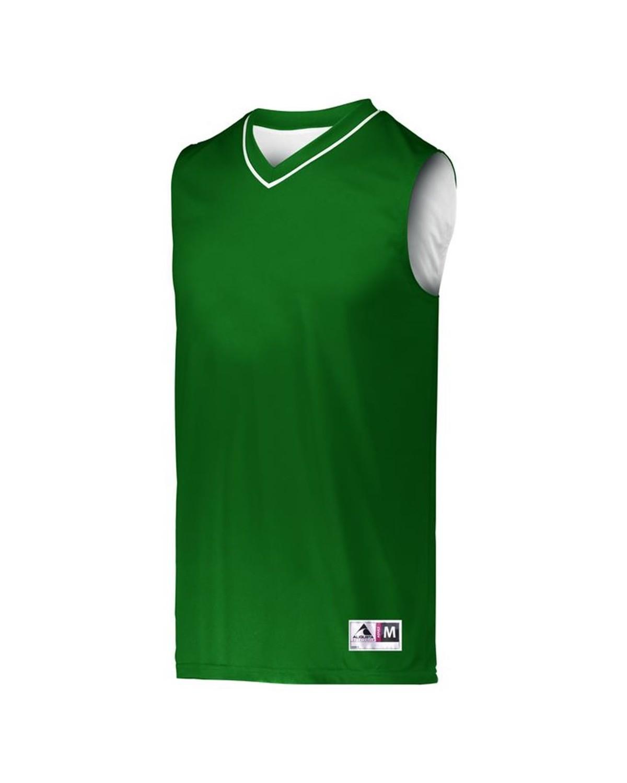 152 Augusta Sportswear Dark Green/ White