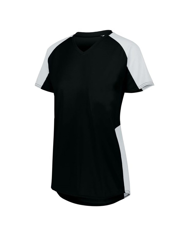 1522 Augusta Sportswear BLACK/ WHITE