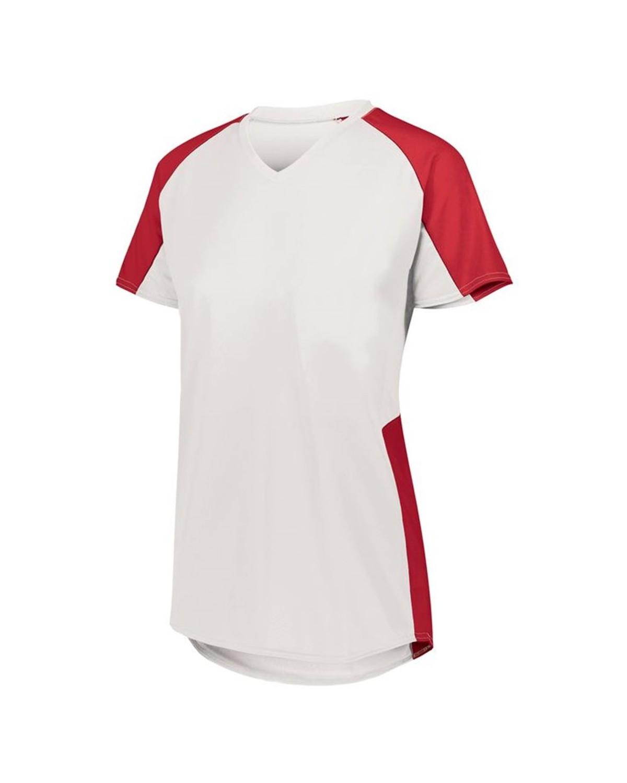 1522 Augusta Sportswear WHITE/ RED