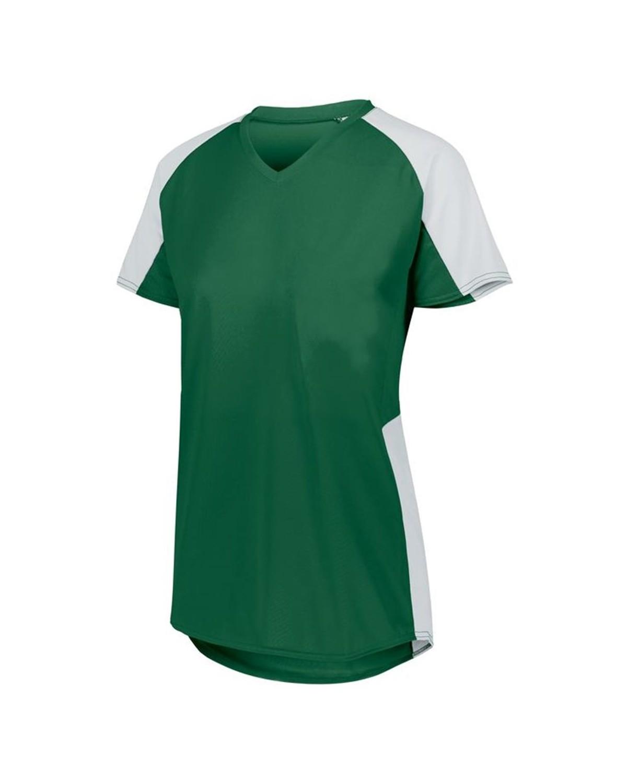 1522 Augusta Sportswear Dark Green/ White