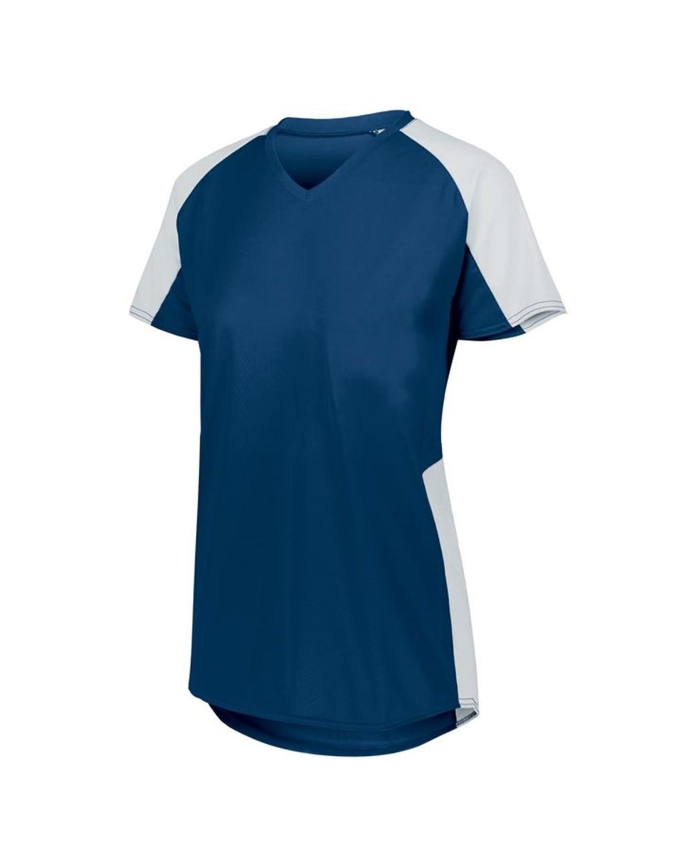 1522 Augusta Sportswear NAVY/ WHITE