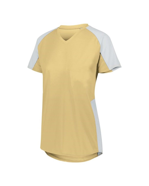 1522 Augusta Sportswear Vegas Gold/ White