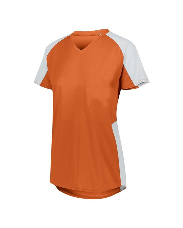 1522 Augusta Sportswear ORANGE/ WHITE