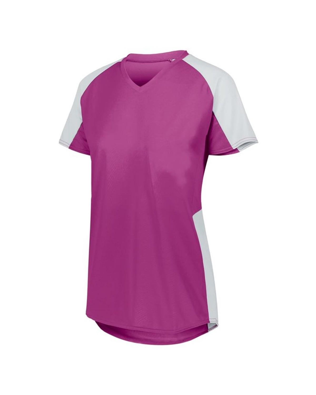 1522 Augusta Sportswear Power Pink/ White