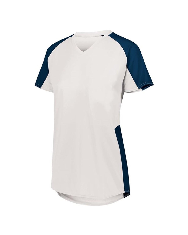 1522 Augusta Sportswear WHITE/ NAVY