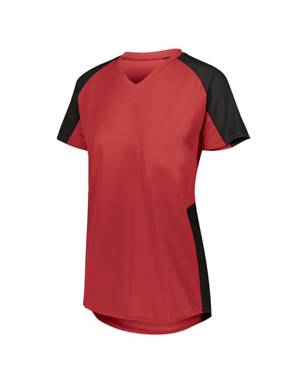 1522 Augusta Sportswear RED/ BLACK