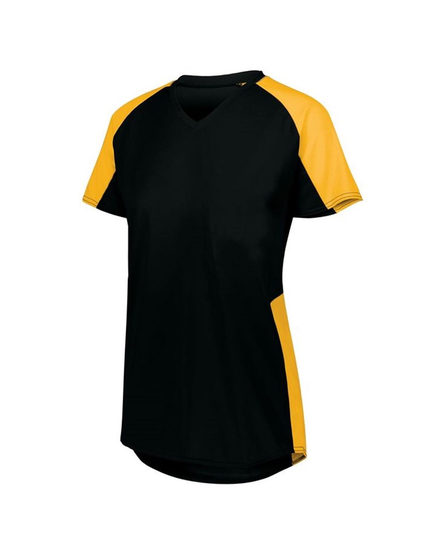 1523 Augusta Sportswear BLACK/ GOLD