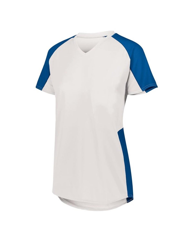 1523 Augusta Sportswear WHITE/ ROYAL