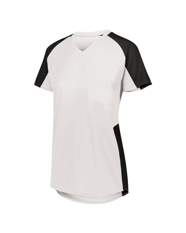 1523 Augusta Sportswear WHITE/ BLACK