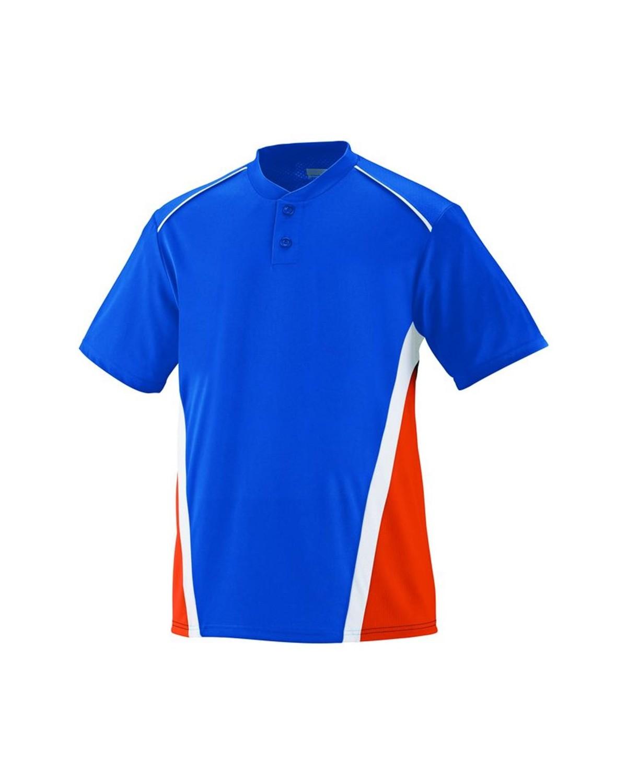 1525 Augusta Sportswear Royal/ Orange/ White