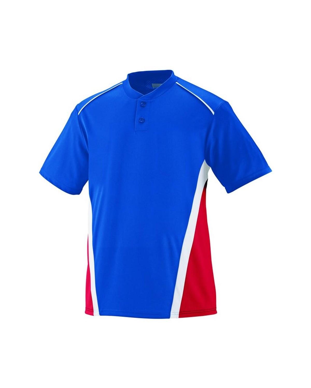 1525 Augusta Sportswear Royal/ Red/ White