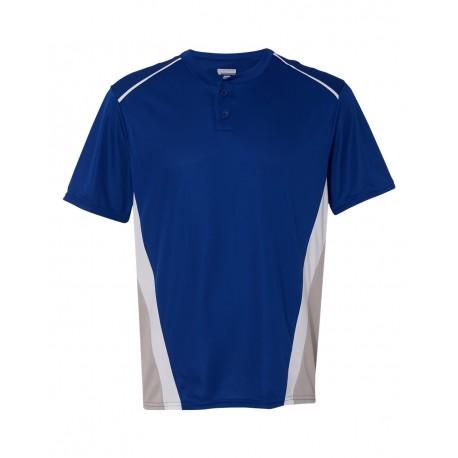1525 Augusta Sportswear 1525 RBI Performance Jersey Royal/ Silver Grey/ White