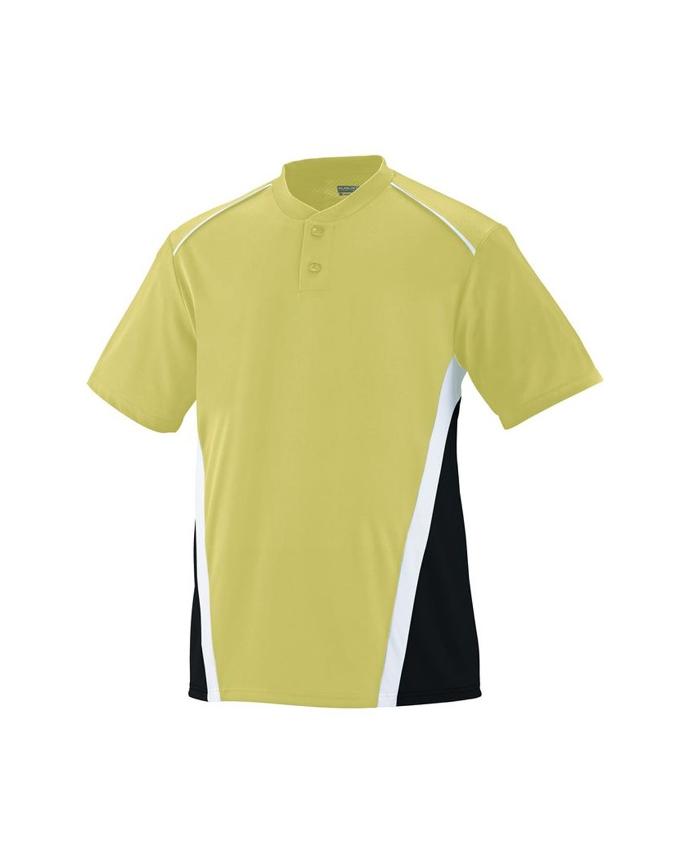 1526 Augusta Sportswear Vegas Gold/ Black/ White