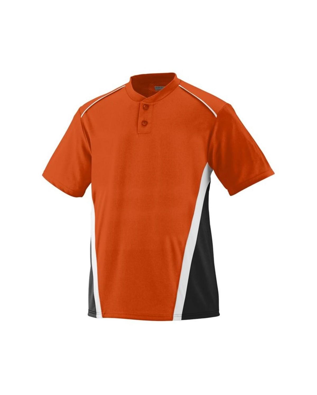 1526 Augusta Sportswear Orange/ Black/ White