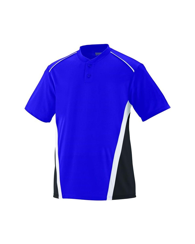 1526 Augusta Sportswear Purple/ Black/ White