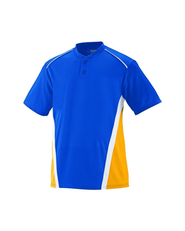 1526 Augusta Sportswear Royal/ Gold/ White