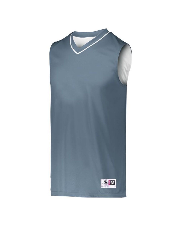 153 Augusta Sportswear GRAPHITE/ WHITE