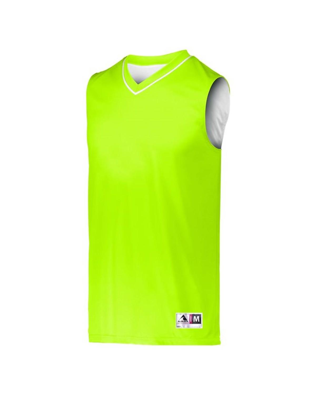 153 Augusta Sportswear LIME/ WHITE
