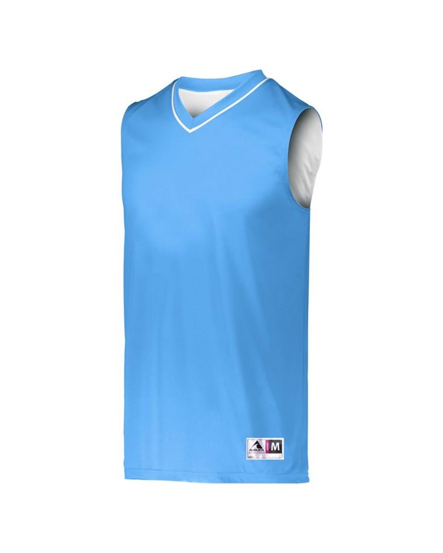 153 Augusta Sportswear Columbia Blue/ White