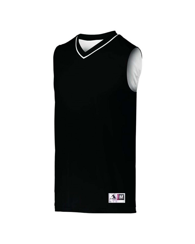 153 Augusta Sportswear BLACK/ WHITE