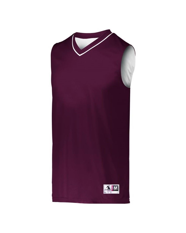 153 Augusta Sportswear MAROON/ WHITE