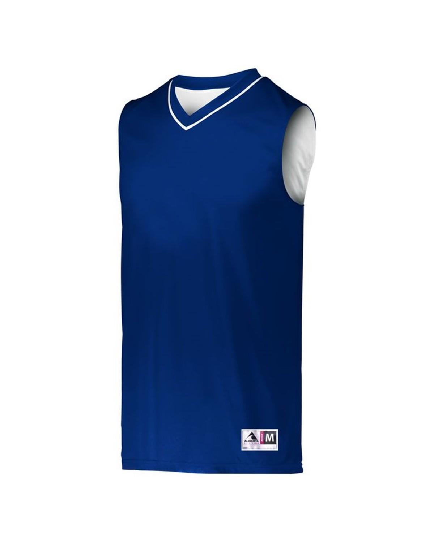 153 Augusta Sportswear NAVY/ WHITE