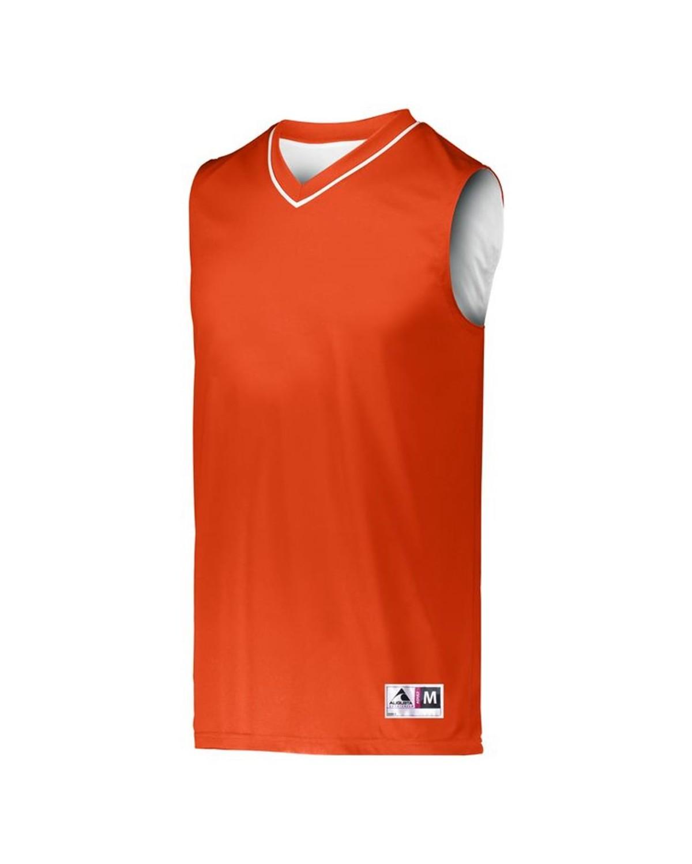 153 Augusta Sportswear ORANGE/ WHITE