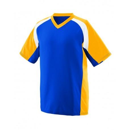 1535 Augusta Sportswear 1535 Nitro Jersey Royal/ Gold/ White