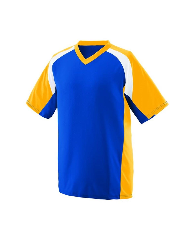 1535 Augusta Sportswear Royal/ Gold/ White