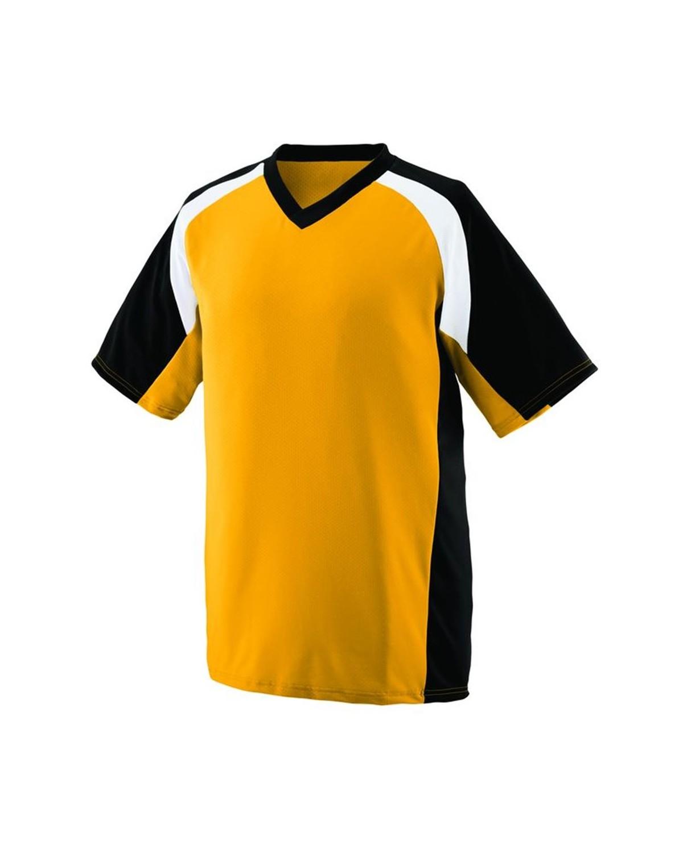 1535 Augusta Sportswear Gold/ Black/ White