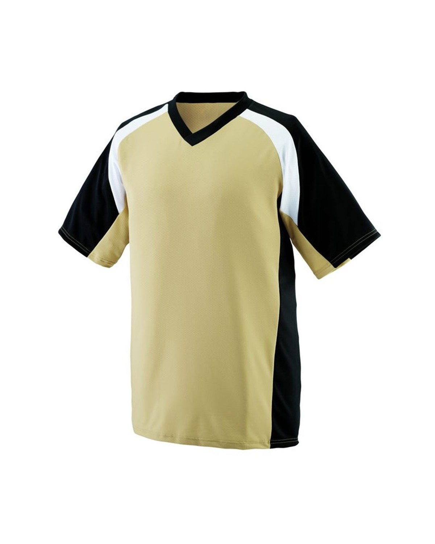 1535 Augusta Sportswear Vegas Gold/ Black/ White