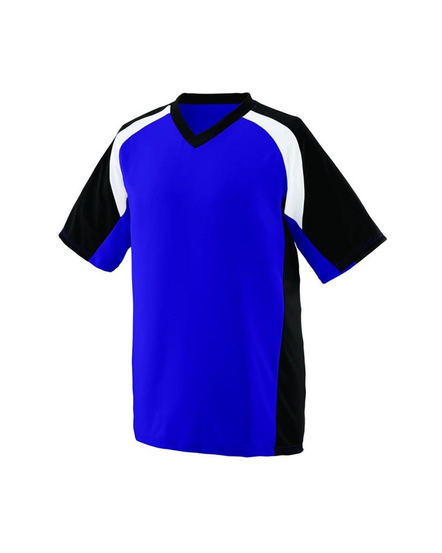1535 Augusta Sportswear Purple/ Black/ White