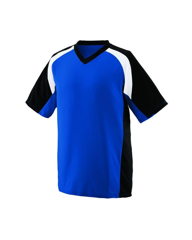 1535 Augusta Sportswear Royal/ Black/ White
