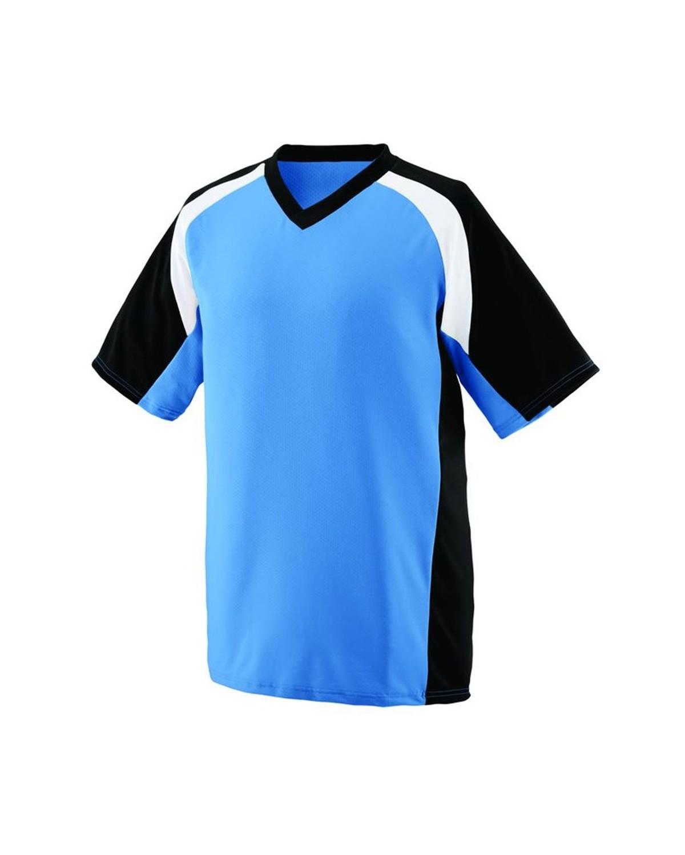 1536 Augusta Sportswear Columbia Blue/ Black/ White