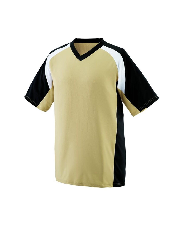 1536 Augusta Sportswear Vegas Gold/ Black/ White