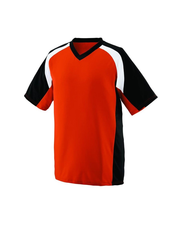 1536 Augusta Sportswear Orange/ Black/ White