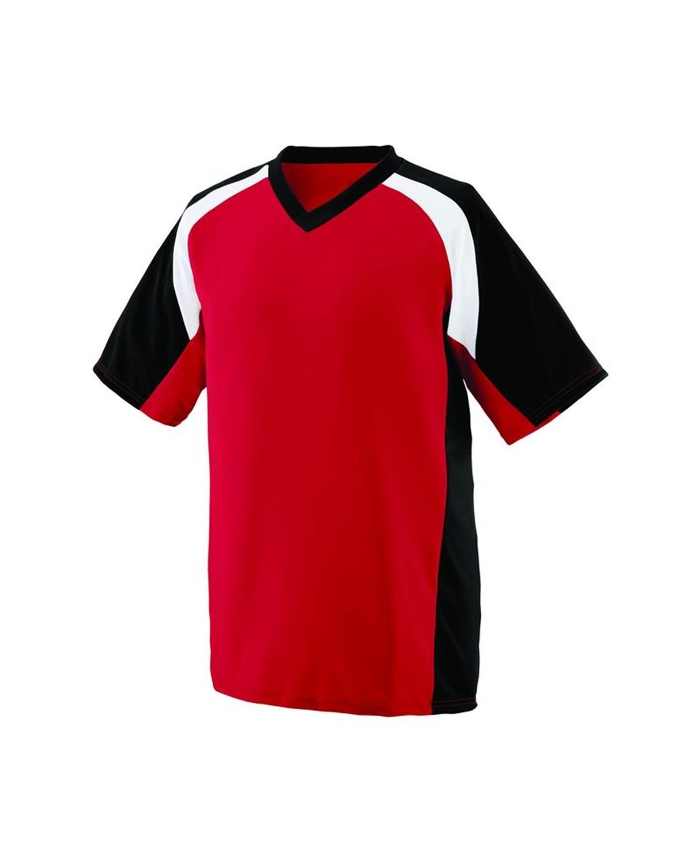 1536 Augusta Sportswear Red/ Black/ White