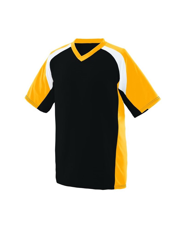 1536 Augusta Sportswear Black/ Gold/ White