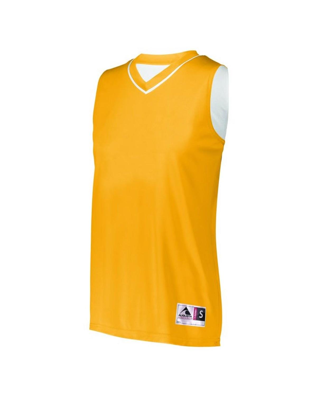 154 Augusta Sportswear GOLD/ WHITE