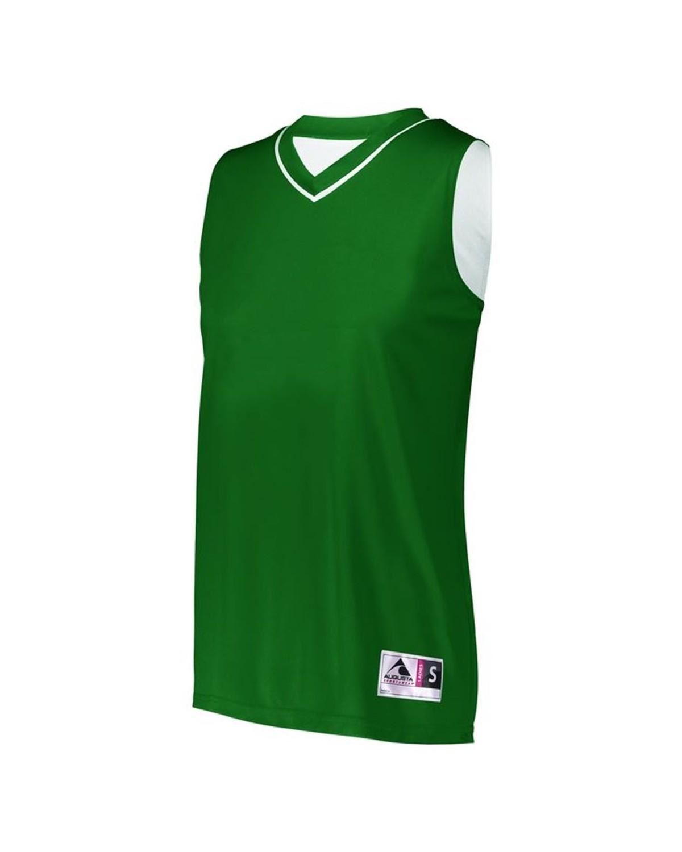 154 Augusta Sportswear Dark Green/ White