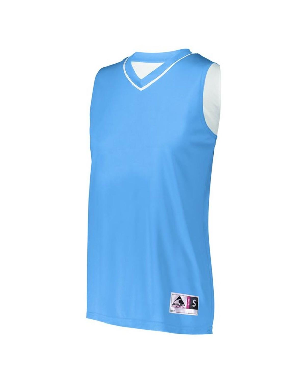 154 Augusta Sportswear Columbia Blue/ White