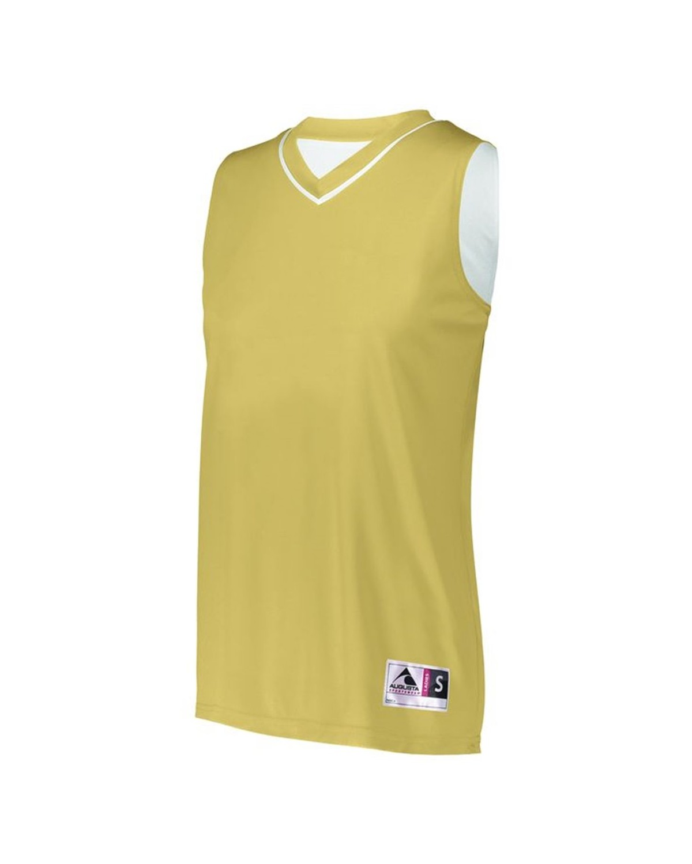 154 Augusta Sportswear Vegas Gold/ White
