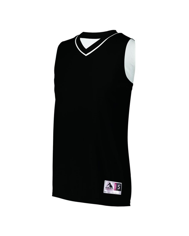 154 Augusta Sportswear BLACK/ WHITE