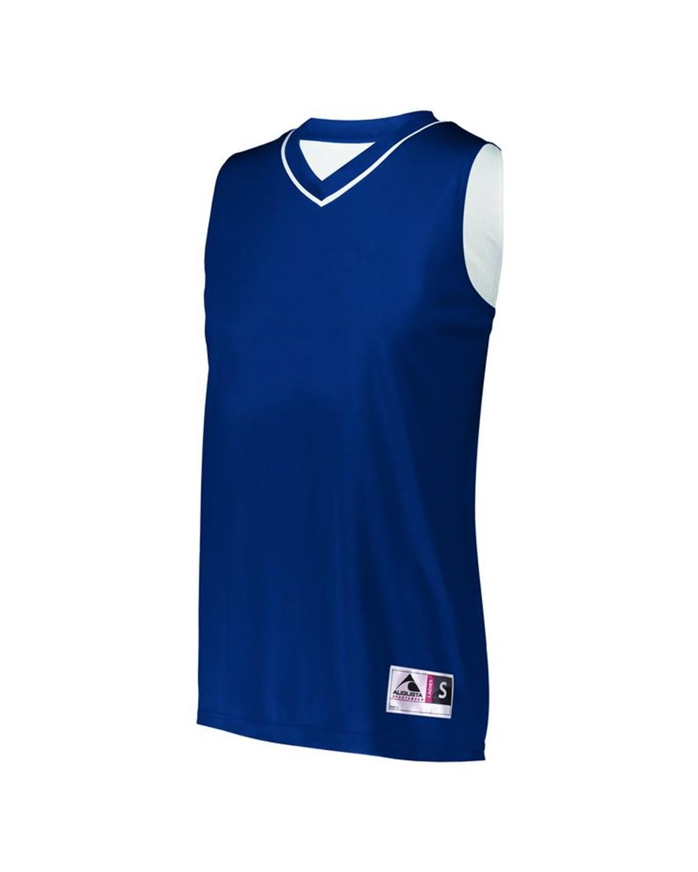 154 Augusta Sportswear NAVY/ WHITE