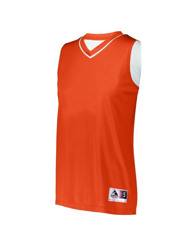 154 Augusta Sportswear ORANGE/ WHITE