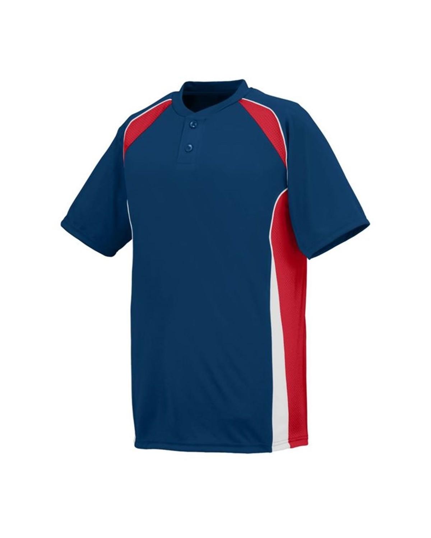 1540 Augusta Sportswear NAVY/ RED/ WHITE