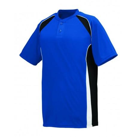 1540 Augusta Sportswear 1540 Base Hit Jersey Royal/ Black/ White