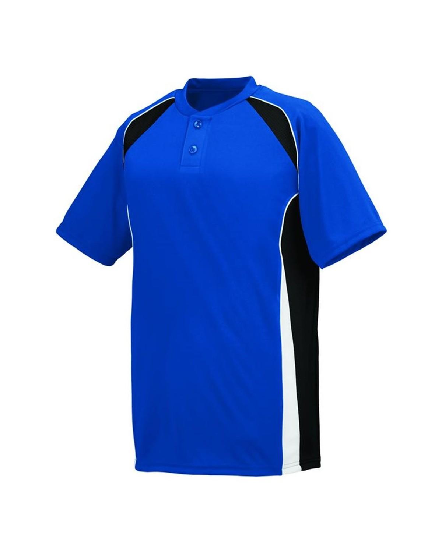 1540 Augusta Sportswear Royal/ Black/ White