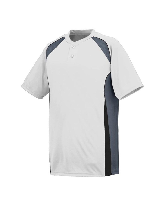 1541 Augusta Sportswear White/ Graphite/ Black