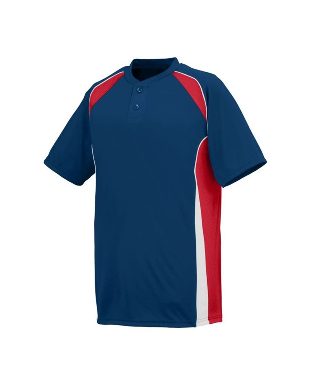 1541 Augusta Sportswear NAVY/ RED/ WHITE